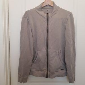 Armani Exchange Full Zip Sweater Jacket